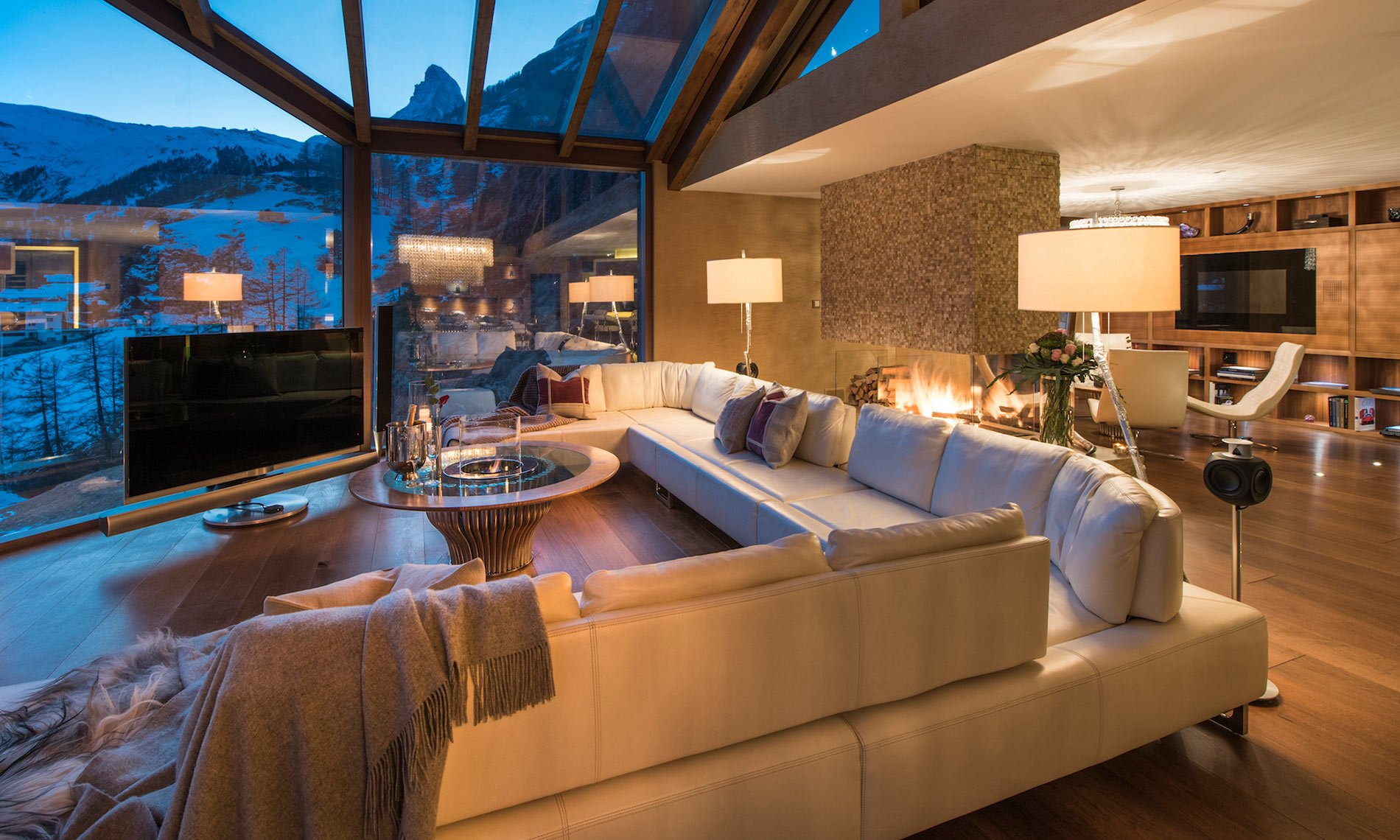 Chalet Zermatt Peak Is A Luxury Chalet In Zermatt For Rent
