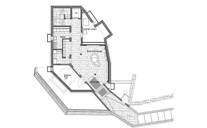 Floor Plans Of Chalet Zermatt Peak